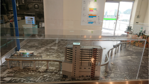 姫路駅と大将軍駅中心の模型.png